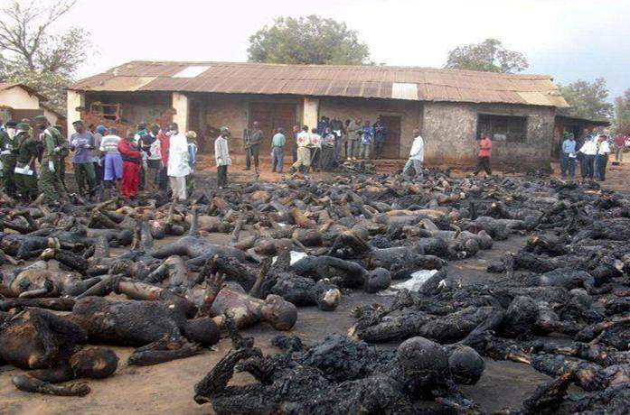 Burned alive while unarmed.... Christians. Att00010
