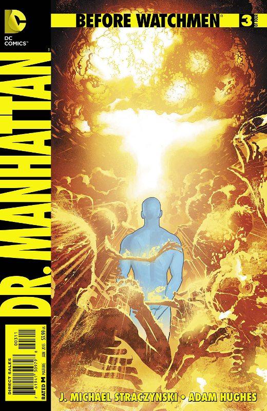 Before Watchmen : Dr Manhattan  Prv14515