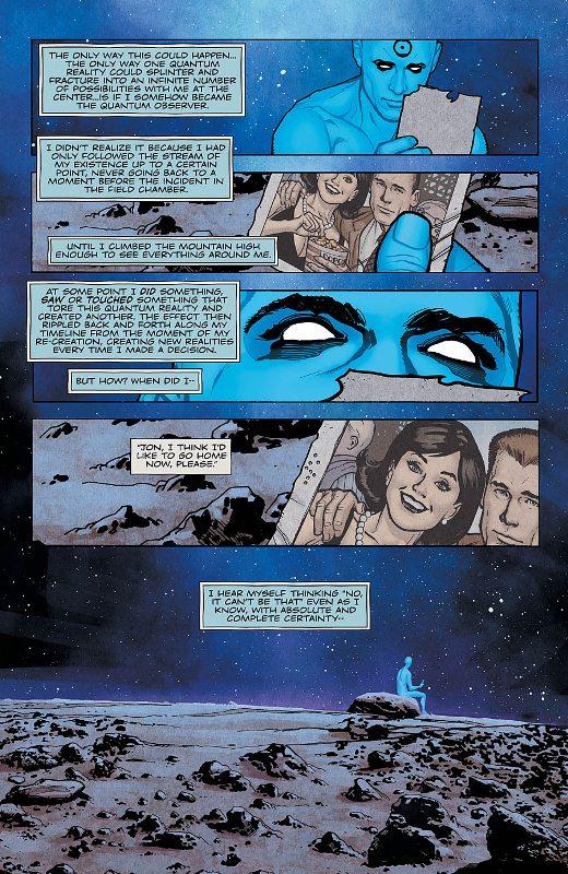 Before Watchmen : Dr Manhattan  Prv14517