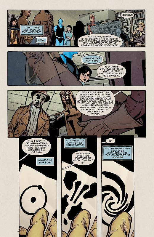 Before Watchmen : Dr Manhattan  Prv14518