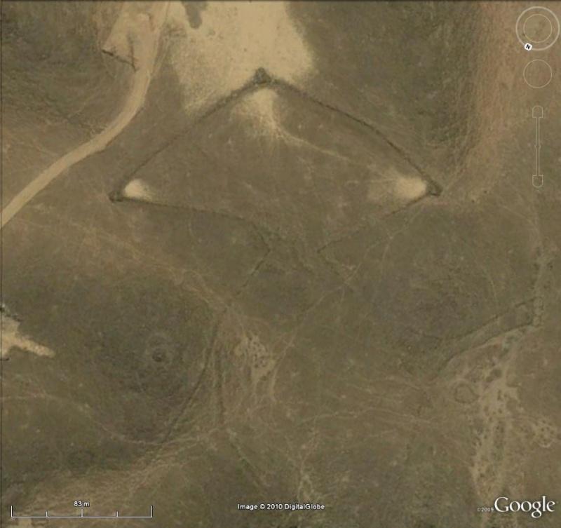 Formes géometriques désert Arabie Saoudite Cercle11