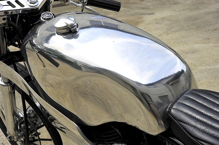 SR400 un peu chromée Detail13