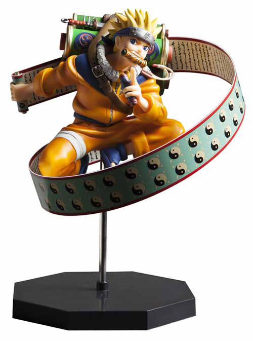 [Figurine] D.P.C.F (Door Painting Collection Figure) - Naruto Uzumaki -Yomigaeru Sharingan Hen- 1/7 Complete Figure (Naruto) Fig-ip13