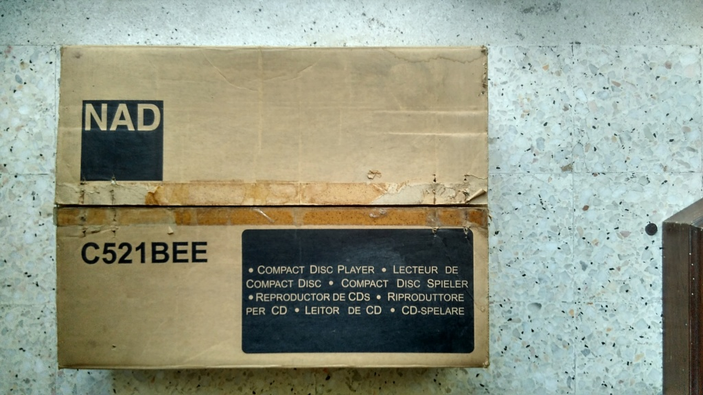 NAD CD Player C521BEE (SOLD) Img_2017