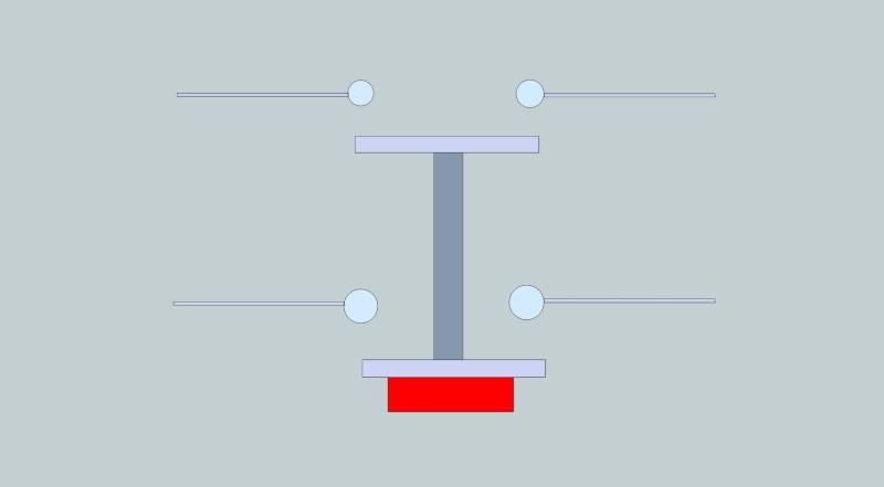Reconditionnement d'une défonceuse à bois - déport des commandes variation de vitesse et M/A Contac12