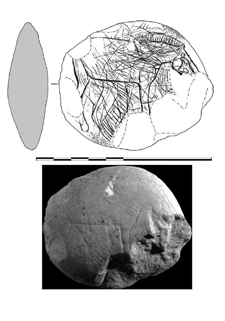 Galets et os gravés magdaléniens de la grotte de la Colombière (Neuville sur Ain / Poncin) 16-24e11