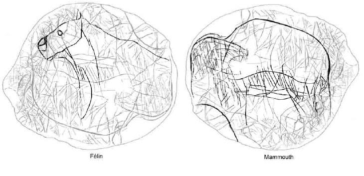 Galets et os gravés magdaléniens de la grotte de la Colombière (Neuville sur Ain / Poncin) 19-aa910