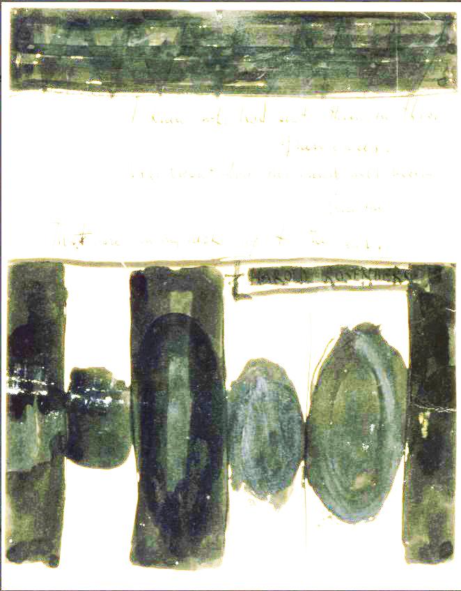 """Motherwell Robert (1915-1991): notes sur les """"Elégies à la République espagnole"""" et sur la série """"Open"""". 1_moth11"""