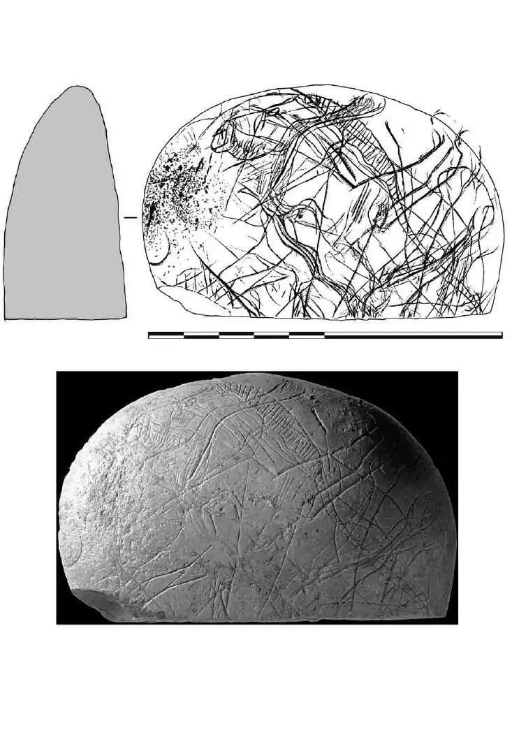 Galets et os gravés magdaléniens de la grotte de la Colombière (Neuville sur Ain / Poncin) 20-ba810