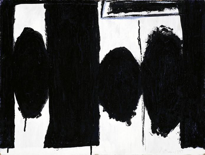 """Motherwell Robert (1915-1991): notes sur les """"Elégies à la République espagnole"""" et sur la série """"Open"""". 2_moth10"""