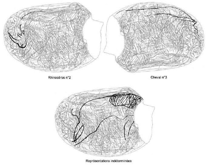 Galets et os gravés magdaléniens de la grotte de la Colombière (Neuville sur Ain / Poncin) 48-62710