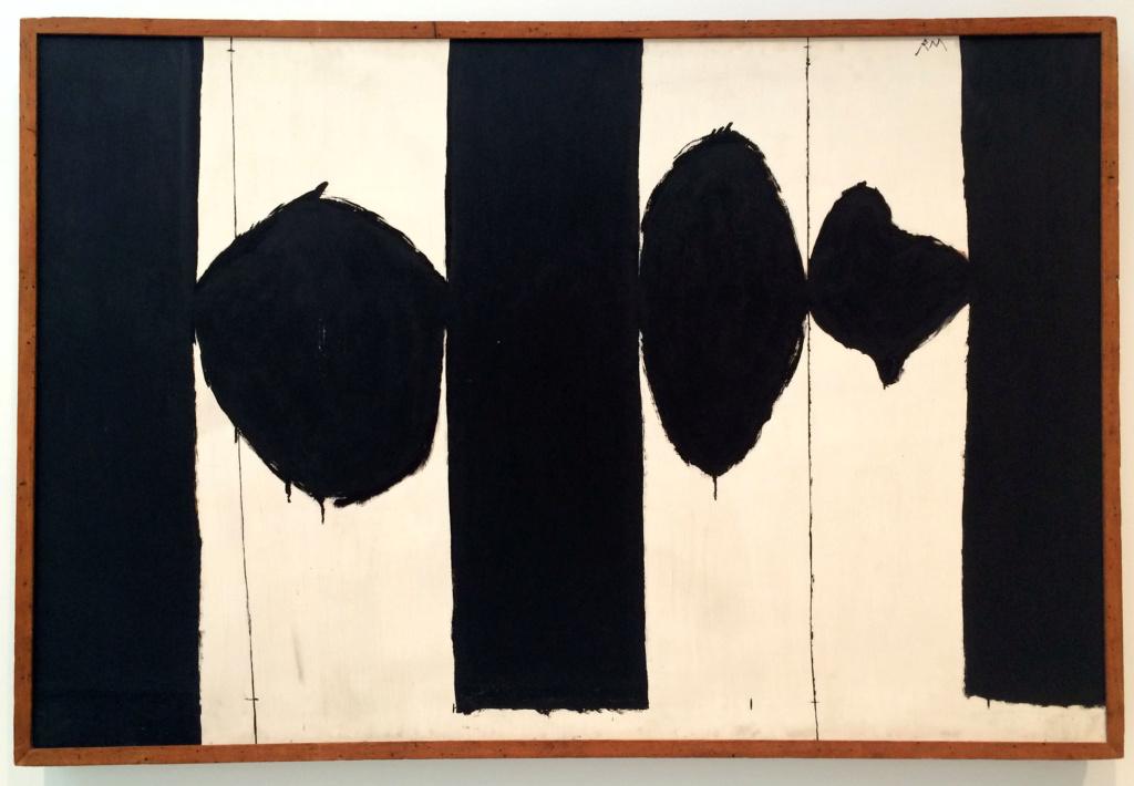 """Motherwell Robert (1915-1991): notes sur les """"Elégies à la République espagnole"""" et sur la série """"Open"""". 4_moth10"""