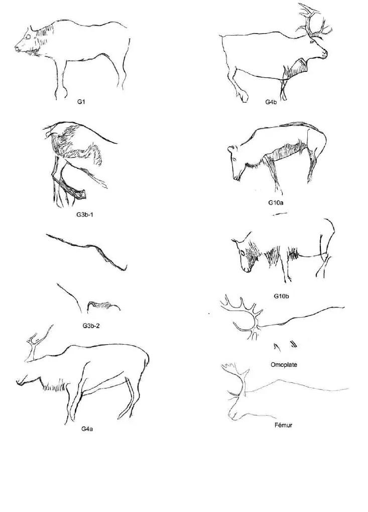 Galets et os gravés magdaléniens de la grotte de la Colombière (Neuville sur Ain / Poncin) 60-26c10