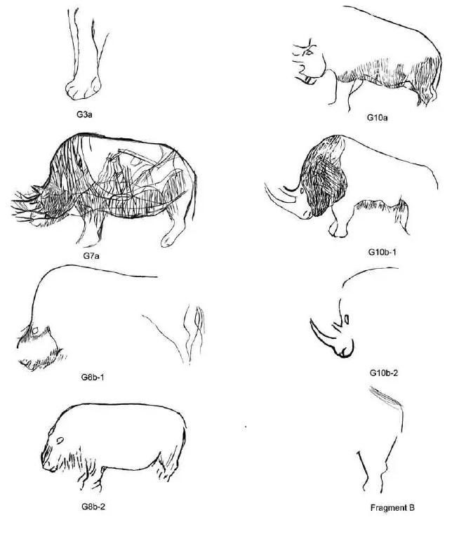 Galets et os gravés magdaléniens de la grotte de la Colombière (Neuville sur Ain / Poncin) 61-31d10