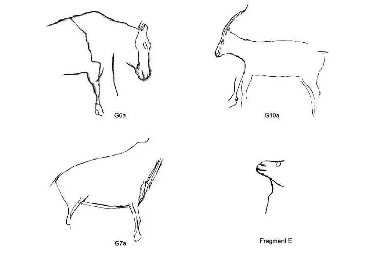 Galets et os gravés magdaléniens de la grotte de la Colombière (Neuville sur Ain / Poncin) 62-f2210