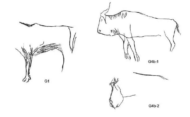 Galets et os gravés magdaléniens de la grotte de la Colombière (Neuville sur Ain / Poncin) 64-4d212