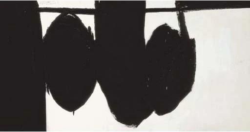 """Motherwell Robert (1915-1991): notes sur les """"Elégies à la République espagnole"""" et sur la série """"Open"""". 71_mot10"""