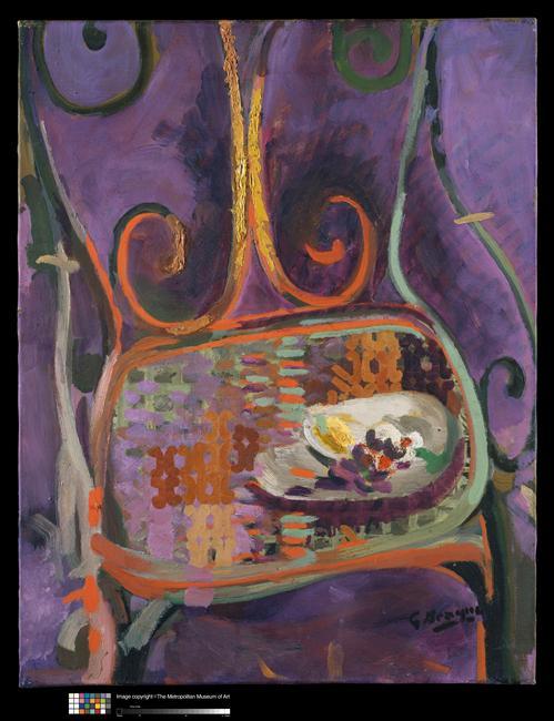 Le motif de la chaise dans l'art Braque10