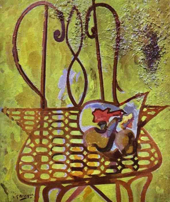 Le motif de la chaise dans l'art Braque11