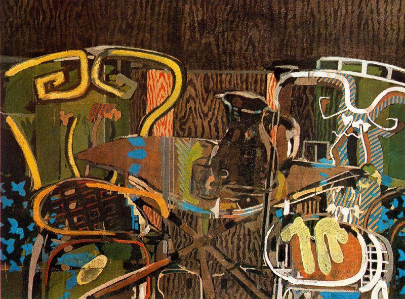 Le motif de la chaise dans l'art Braque12