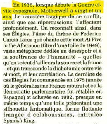 """Motherwell Robert (1915-1991): notes sur les """"Elégies à la République espagnole"""" et sur la série """"Open"""". Captur57"""