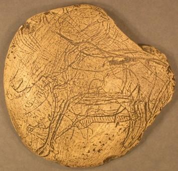 Galets et os gravés magdaléniens de la grotte de la Colombière (Neuville sur Ain / Poncin) Galet10