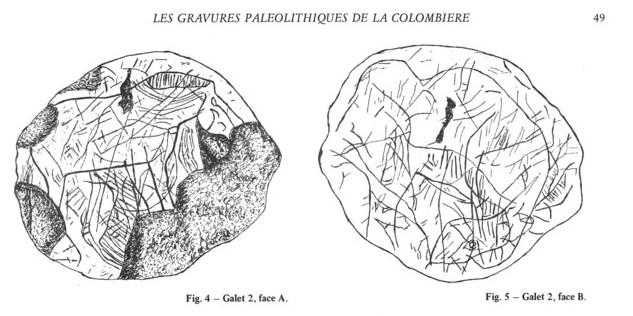 Galets et os gravés magdaléniens de la grotte de la Colombière (Neuville sur Ain / Poncin) Galet_13