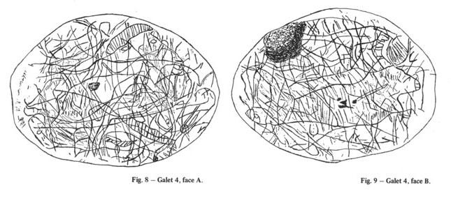 Galets et os gravés magdaléniens de la grotte de la Colombière (Neuville sur Ain / Poncin) Galet_15