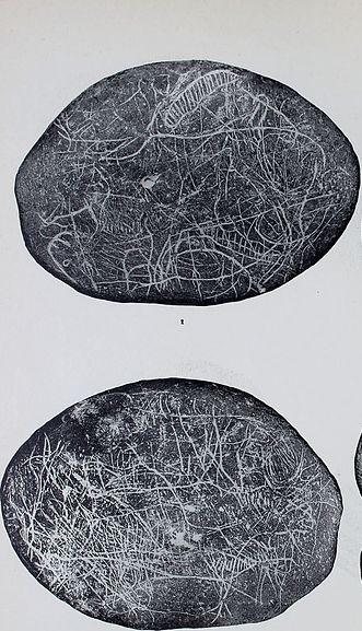 Galets et os gravés magdaléniens de la grotte de la Colombière (Neuville sur Ain / Poncin) Galet_16