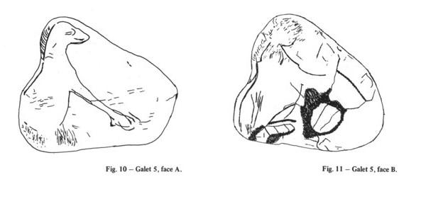 Galets et os gravés magdaléniens de la grotte de la Colombière (Neuville sur Ain / Poncin) Galet_17