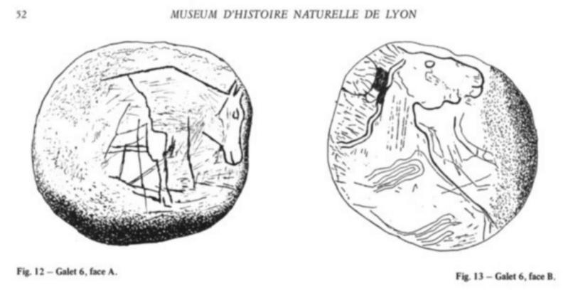 Galets et os gravés magdaléniens de la grotte de la Colombière (Neuville sur Ain / Poncin) Galet_20