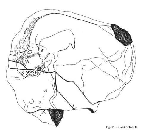 Galets et os gravés magdaléniens de la grotte de la Colombière (Neuville sur Ain / Poncin) Galet_24