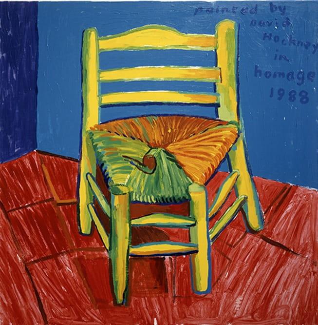 Le motif de la chaise dans l'art Hockne11