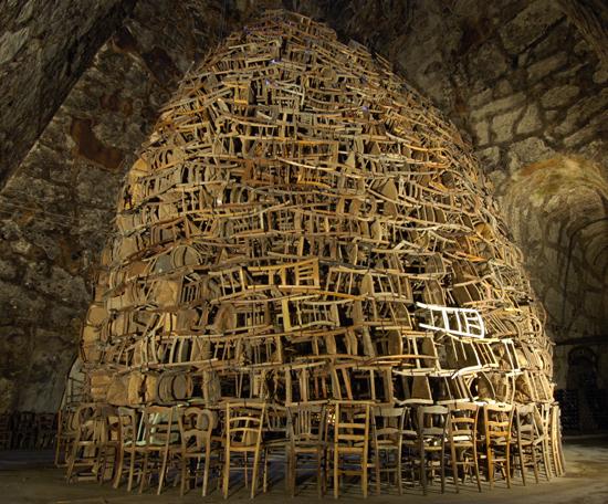 Le motif de la chaise dans l'art Kawama10