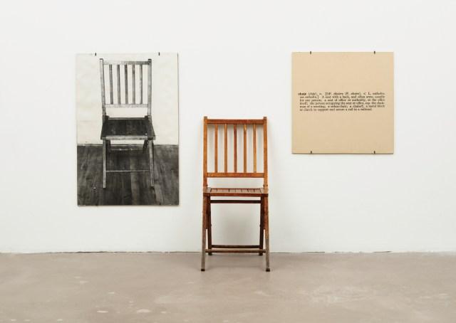 Le motif de la chaise dans l'art Kosuth10