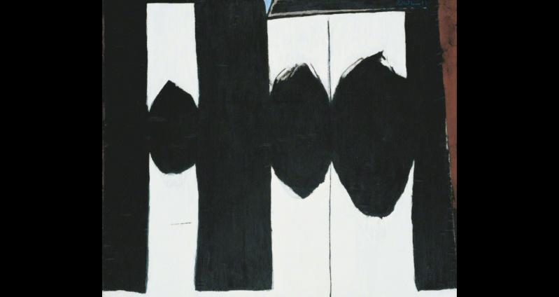 """Motherwell Robert (1915-1991): notes sur les """"Elégies à la République espagnole"""" et sur la série """"Open"""". Mother20"""