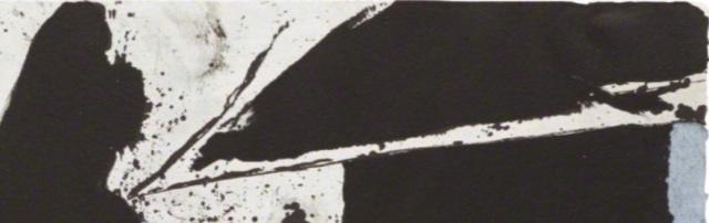 """Motherwell Robert (1915-1991): notes sur les """"Elégies à la République espagnole"""" et sur la série """"Open"""". Mother35"""