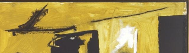 """Motherwell Robert (1915-1991): notes sur les """"Elégies à la République espagnole"""" et sur la série """"Open"""". Mother36"""
