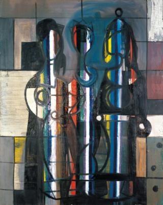 """Motherwell Robert (1915-1991): notes sur les """"Elégies à la République espagnole"""" et sur la série """"Open"""". Mother49"""