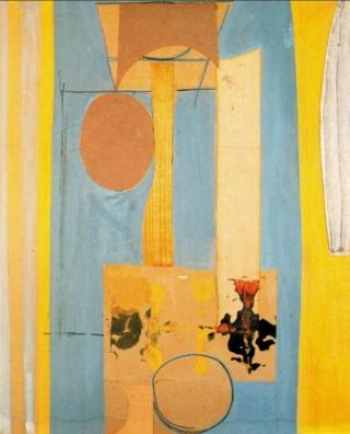 """Motherwell Robert (1915-1991): notes sur les """"Elégies à la République espagnole"""" et sur la série """"Open"""". Mother53"""