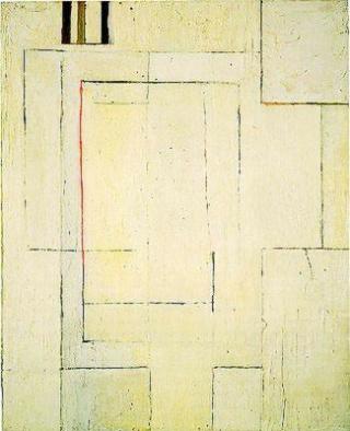 """Motherwell Robert (1915-1991): notes sur les """"Elégies à la République espagnole"""" et sur la série """"Open"""". Mother73"""