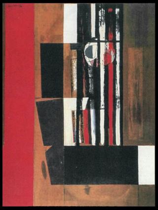 """Motherwell Robert (1915-1991): notes sur les """"Elégies à la République espagnole"""" et sur la série """"Open"""". Mother74"""