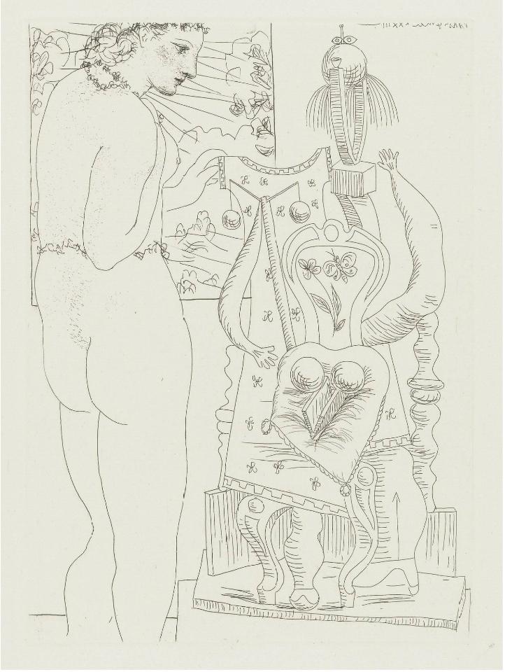 Le motif de la chaise dans l'art Picass15