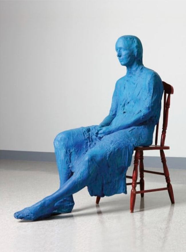 Le motif de la chaise dans l'art Segal_10