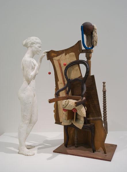 Le motif de la chaise dans l'art Segal_12