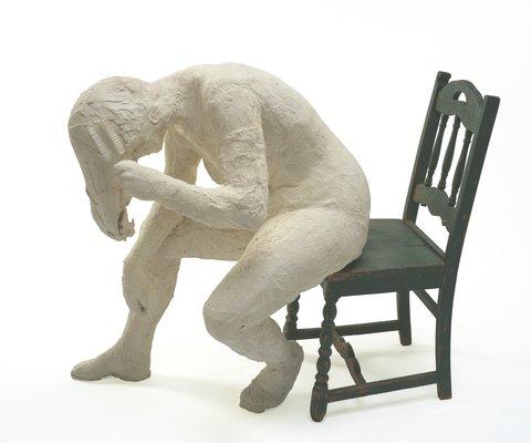 Le motif de la chaise dans l'art Segal_13