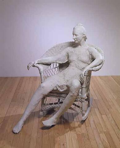 Le motif de la chaise dans l'art Segal_14