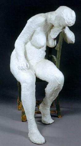 Le motif de la chaise dans l'art Segal_17