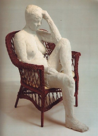 Le motif de la chaise dans l'art Segal_18