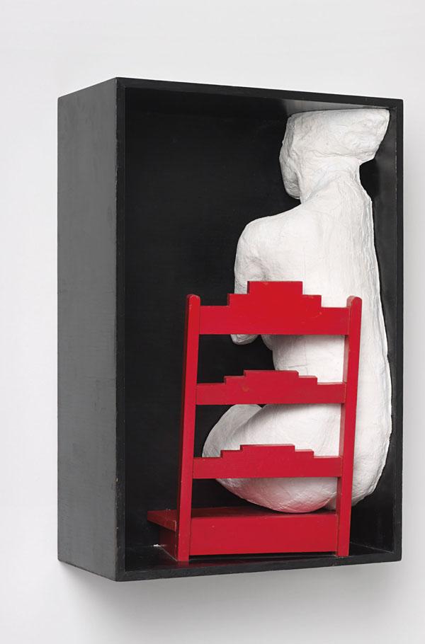 Le motif de la chaise dans l'art Segal_20